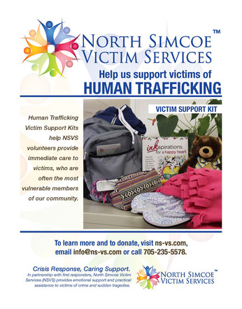 Fundraising campaign for North Simcoe Victim Services