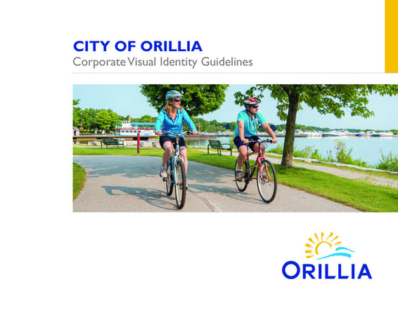 Visual Identity Guidelines document, City of Orillia