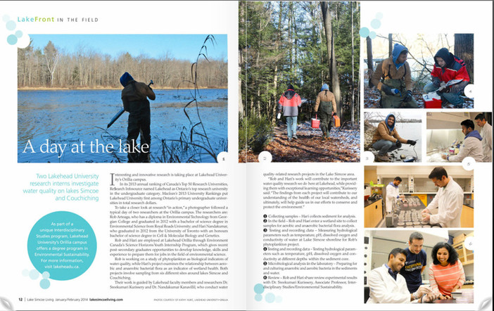 Lake Simcoe Living magazine