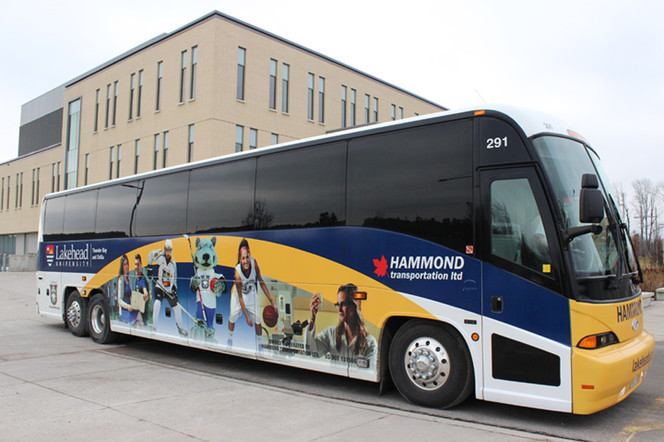 Lakehead University bus wrap!