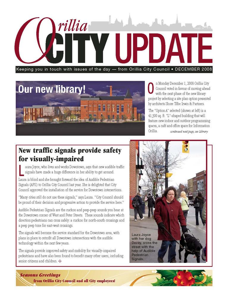 Orillia City Update
