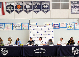 Nine Mariners Poised to Make Waves at the Collegiate Level