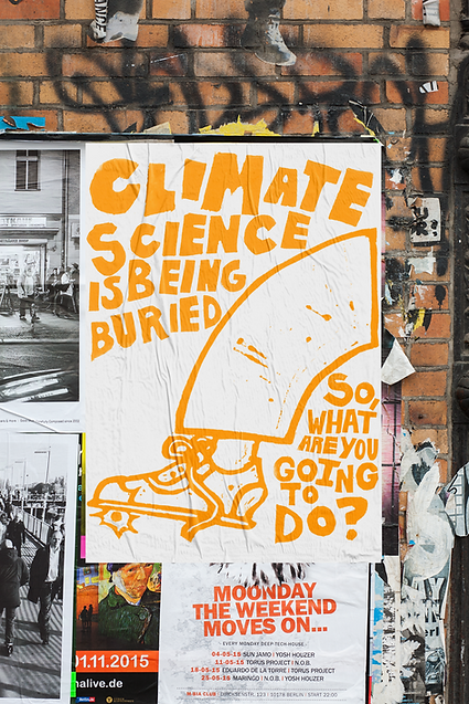 Climate Science is Being Buried Poster