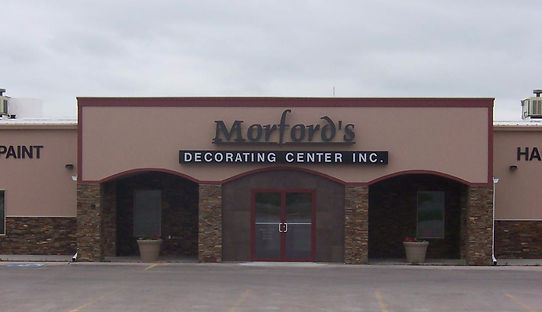 1250 W 6th St, Chadron Nebraska, Morford's Decorating