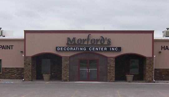 1250 W 6th St, Chadron Nebraska, Morford's Decorating