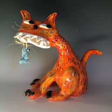 Orange Cheeky Cat - sold at Sydney Easter Show 2019