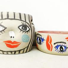 #eye can #see you #potplants #pots to ha