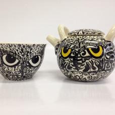 #owl #teapot #collaboration #ceramic #ce