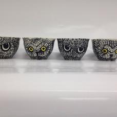 #owl bowl #owl #handpainting #glazing #c