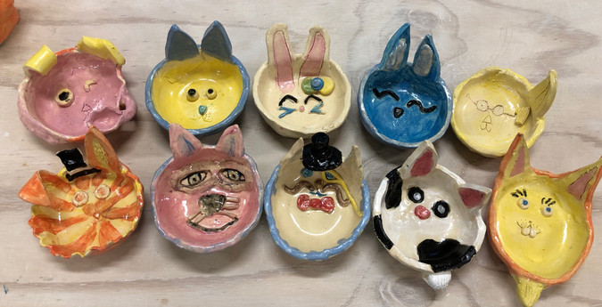 Easter Bunny Bowls