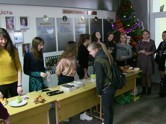 День святого Миколая в Барському гуманітарно-педагогічному коледжі імені Михайла Грушевського