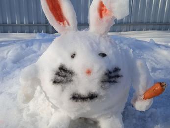 «Падав сніг на поріг…»