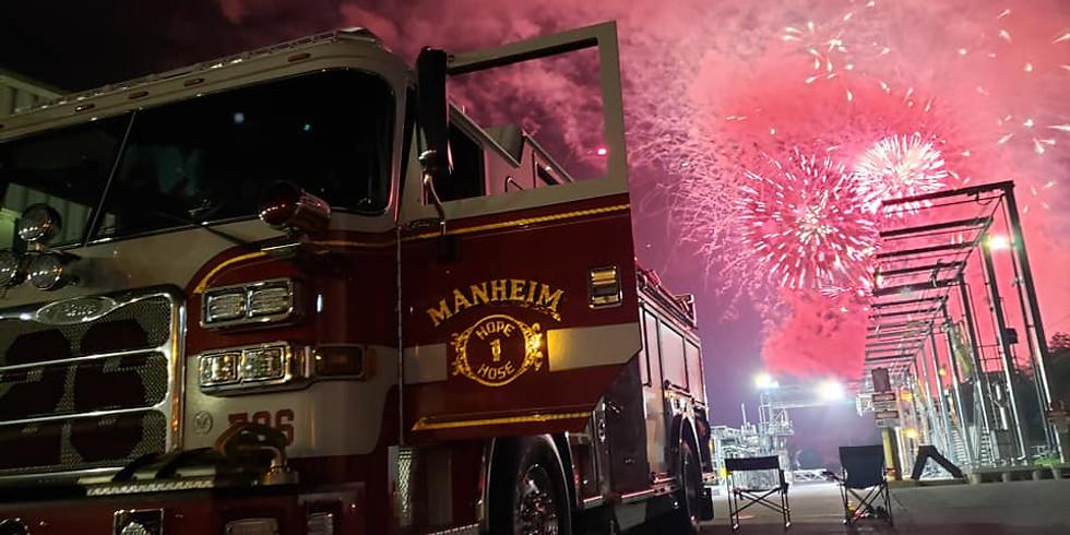 Chapter PA 2; Manheim Fire Company Donation Presentation