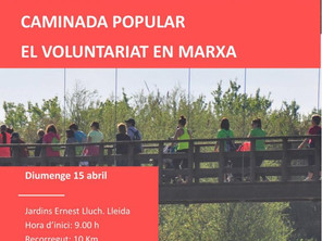 Caminada popular El voluntariat en marxa!