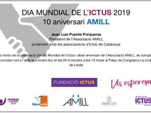 Desè aniversari d'AMILL i celebració del Dia Mundial de l'Ictus