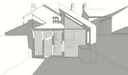 Funky side return and rear extension