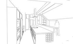 Proposed internal sketch