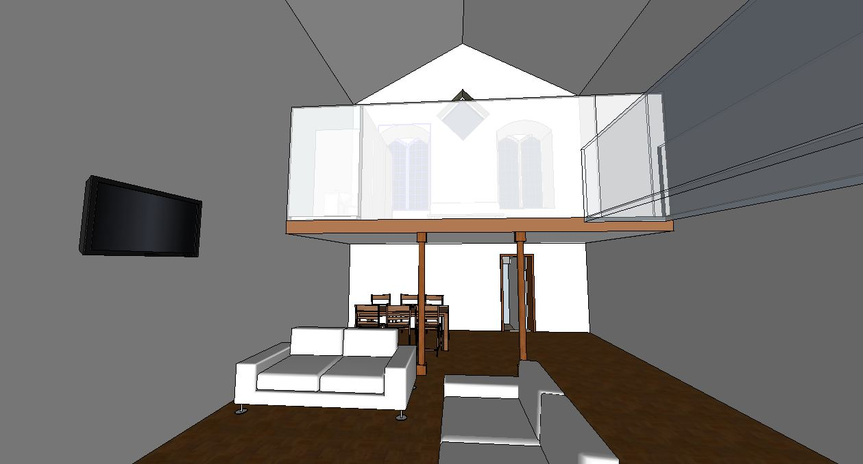 Chapel conversion inside