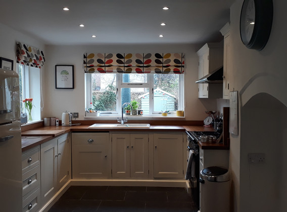 The former kitchen did not make the most of natural light and access to the garden
