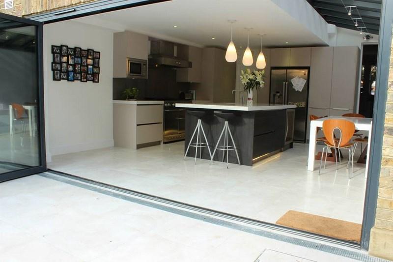 Kitchen - doors open
