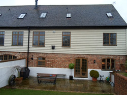Rear elevation before
