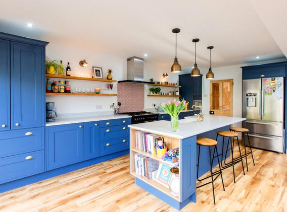Stunning light kitchen
