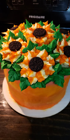 Sunflower Pot Cake Class