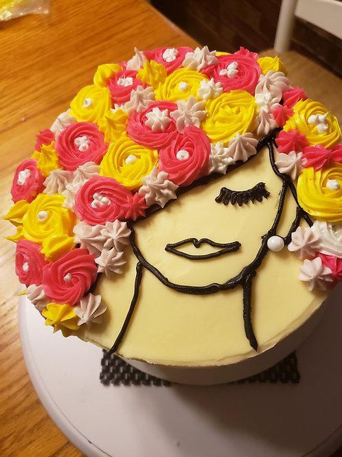 Sunny Portrait Cake Kit