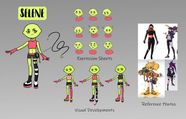 Character Design - Selene