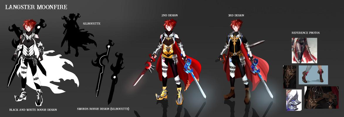 Character Design - Langster