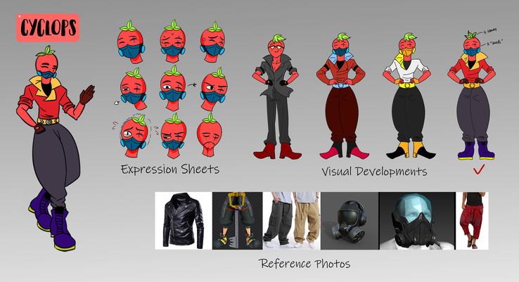 Character Design - Cyclops