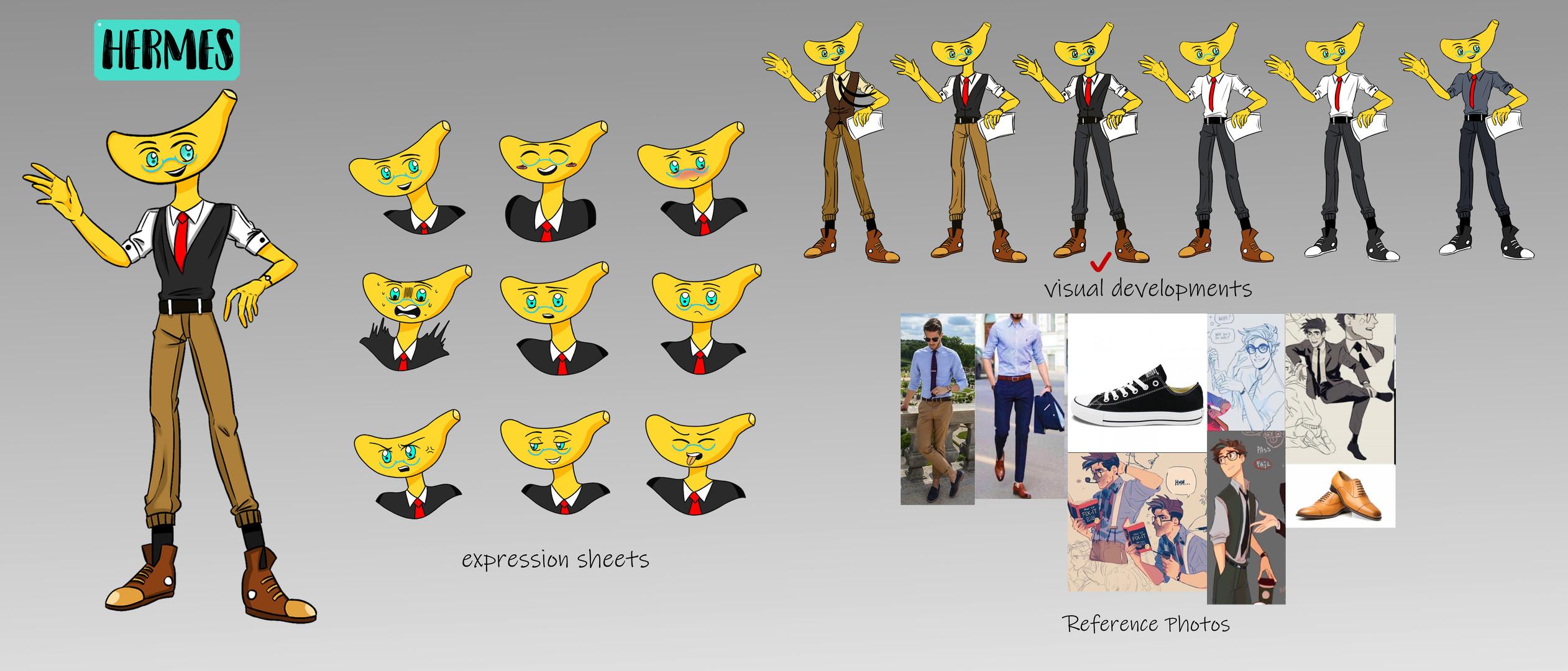 Character Design - Hermes