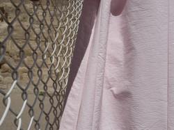 détail rose vinyle