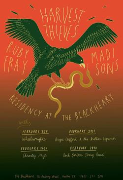 harvest theives blackheart poster