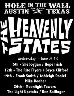 heavenly states residency poster