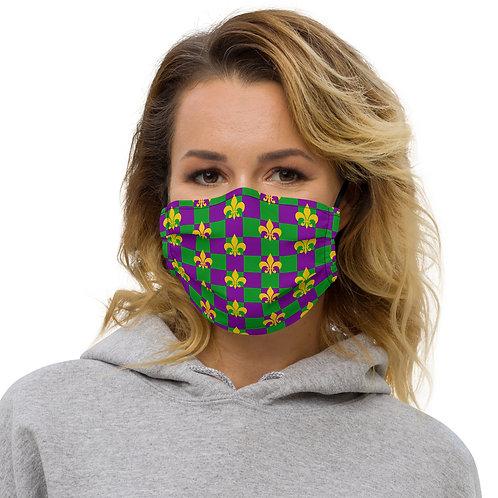 Mardi Gras Premium face mask