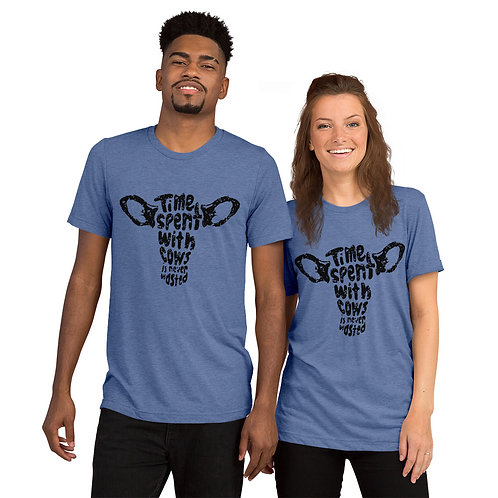 Time Spent with Cows Short sleeve t-shirt
