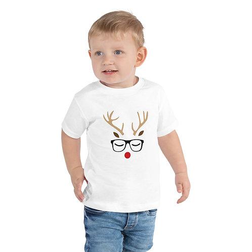 Boys Reindeer Toddler Short Sleeve Tee