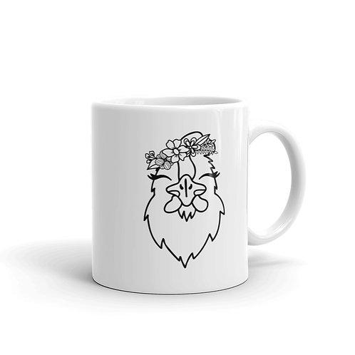 Chicken White glossy mug