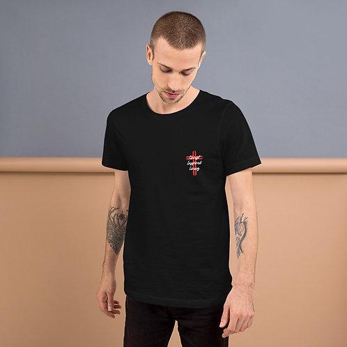 Christ Inspired Living Pocket Design Short-Sleeve Unisex T-Shirt