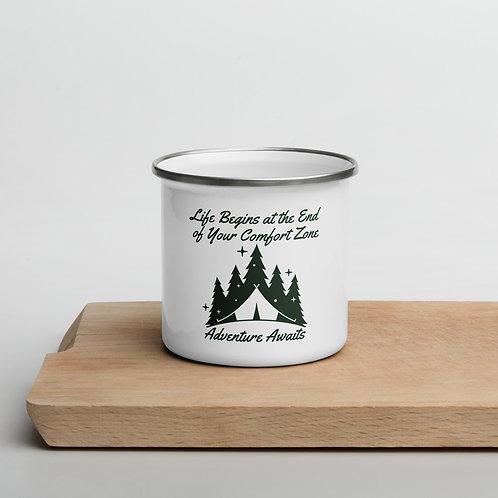 Life is an Adventure Enamel Mug