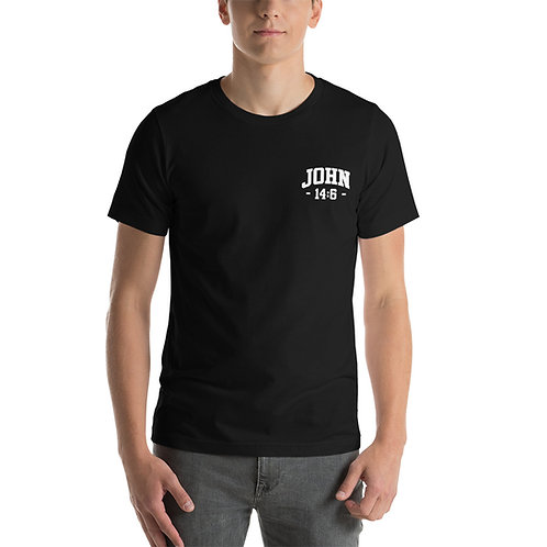 John 14:6 Short-Sleeve Unisex T-Shirt