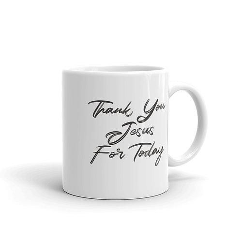 Thank You Jesus Mug