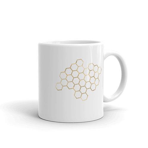 Serenity Honey Comb Mug