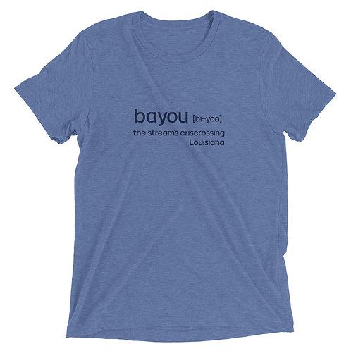 """""""Bayou"""" Cajun Short sleeve t-shirt"""