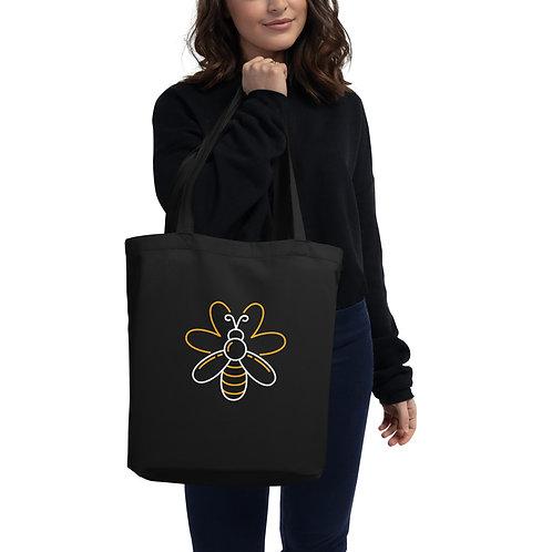 Serenity Bee Abstract Eco Tote Bag