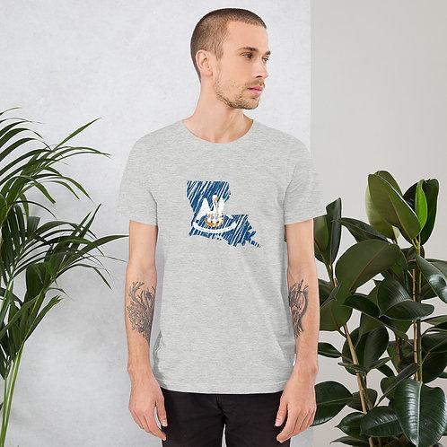 Louisiana Short-Sleeve Unisex T-Shirt