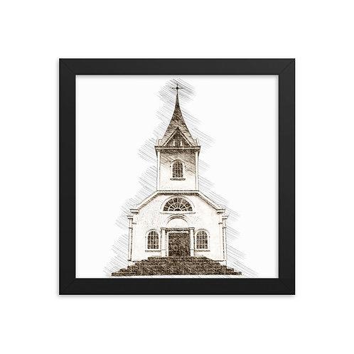 Church Framed poster