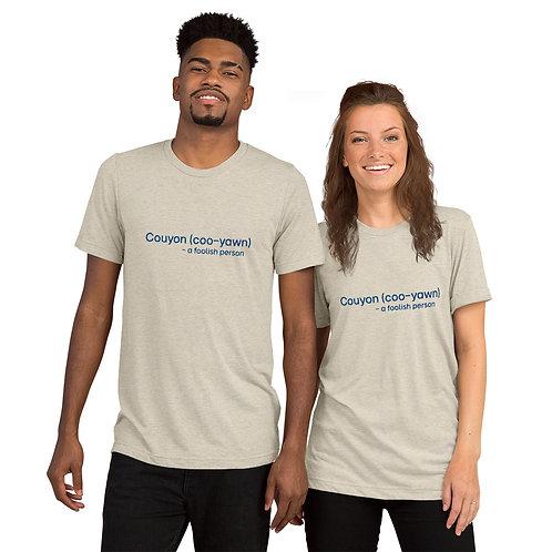 Couyon (alt spelling) Short sleeve t-shirt