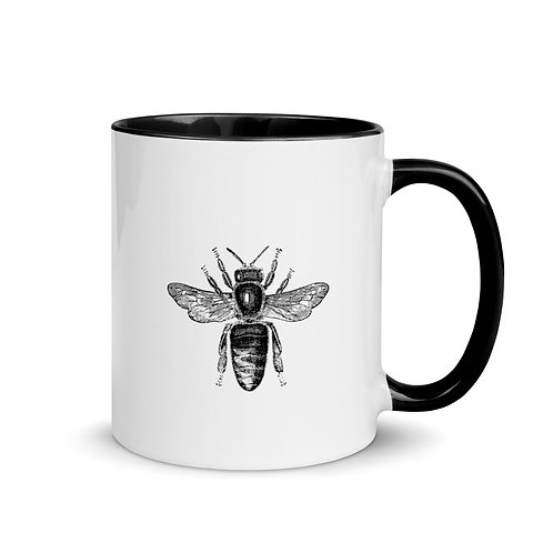 Serenity Bee Mug with Color Inside